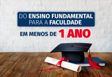 do fundamental para a faculdade
