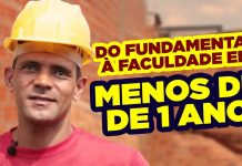 do ensino fundamental para a faculdade