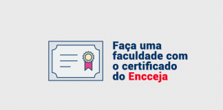 FACULDADE COM CERTIFICADO DO ENCCEJA