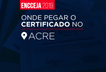 Resultado do Encceja Acre